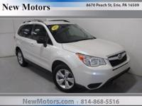 This 2015 Subaru Forester 2.5i is offered to you for