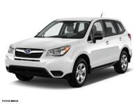 It doesn't get much better than this 2015 Subaru