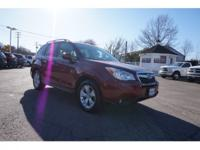 2015 Subaru Forester 2.5i Limited Red New Price!