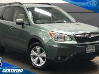 Certified Pre-Owned! Navigation, Gray Leather Seats,