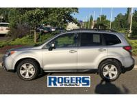 This 2015 Subaru Forester is a Certified Pre-owned