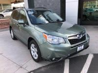 Options:  2015 Subaru Forester 2.5I Limited|Green|Clean