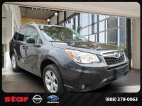 CARFAX One-Owner. Clean CARFAX. Gy 2015 Subaru Forester