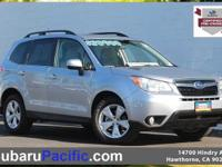 Certified, Sunroof/Moonroof, Forester 2.5i Limited,