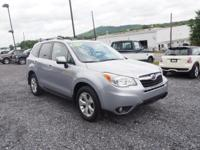 This smooth-riding 2015 Subaru Forester 2.5i Limited