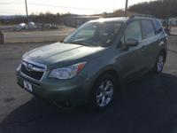 Forester 2.5i Limited, Subaru Certified, 4D Sport