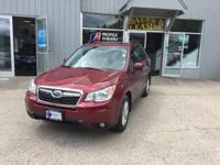 Climb inside the 2015 Subaru Forester! Maximum utility