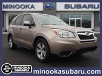 Outstanding design defines the 2015 Subaru Forester!
