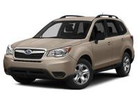 SUBARU CERTIFIED, ONE OWNER, and CLEAN CARFAX. 6-Speed