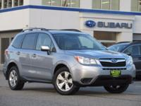 **** SOLD HERE / MAINTAINED HERE **** This 2015 Subaru