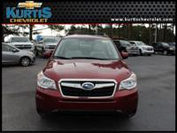 This One Owner 2015 Subaru Forester 2.5i Premium is All