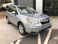 Options:  2015 Subaru Forester 2.5I Premium|Silver|This