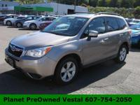 Meet our 2015 Subaru Forester 2.5i Premium proudly
