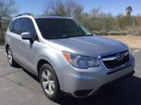 CARFAX ONE OWNER! Forester 2.5i Premium, 4D Sport