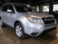 CARFAX One-Owner. Silver Blue Metallic 2015 Subaru