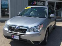 Take command of the road in the 2015 Subaru Forester!