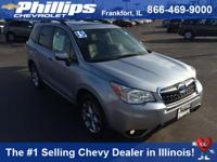 Silver Bullet! AWD! This 2015 Forester is for Subaru