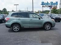 2015 Green Subaru Forester 2.5i Touring USB Charging