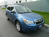 Climb up inside the 2015 Subaru Forester! It focuses on