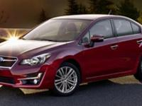 EPA 37 MPG Hwy/28 MPG City! Impreza trim. Bluetooth, CD