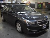 This outstanding example of a 2015 Subaru Impreza Sedan