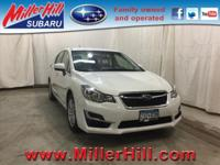 2015 Subaru Impreza 2.0i Premium AWD ready to go! With