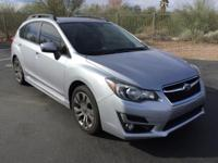 Impreza 2.0i Sport Limited, 4D Hatchback, CVT