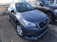 Options:  2015 Subaru Legacy 2.5I|Who Could Say No To A