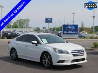 New Price! Clean CARFAX. CARFAX One-Owner. 2015 Subaru