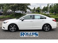 This Subaru Certified Pre-owned Legacy is perfect in