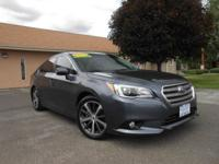 2015 SUBARU LEGACY LIMITED AWD! ONLY 30K MILES!