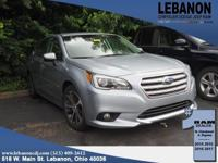 2015 Subaru Legacy Limited 2.5i Ice Silver Metallic AWD