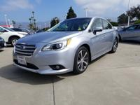 Options:  2015 Subaru Legacy 2.5I Limited|Silver|What