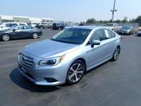 For a smoother ride, opt for this 2015 Subaru Legacy