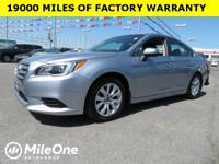CARFAX One-Owner. Clean CARFAX. Ice Silver 2015 Subaru