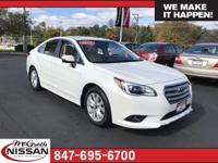 2015 Subaru Legacy 2.5i Premium36/26 Highway/City