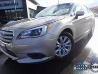 Options:  2015 Subaru Legacy 2.5I|Gray|Subaru Starlink