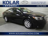 AWD. Classy Black! Penny-pinching at the pump. If