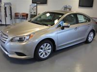 Take command of the roadway in the 2015 Subaru Legacy!