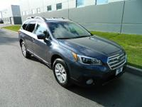 Take command of the road in the 2015 Subaru Outback! It
