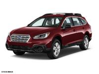 THIS OUTBACK IS CERTIFIED! CARFAX ONE OWNER! NEW TIRES,