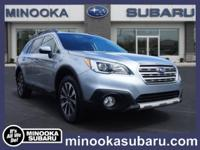 Outstanding design defines the 2015 Subaru Outback! It