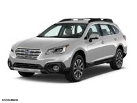 *New Arrival* This 2015 Subaru Outback 2.5i Limited