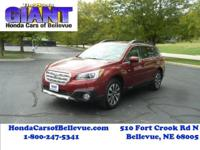 This 2015 Subaru Outback 2.5i Limited is proudly