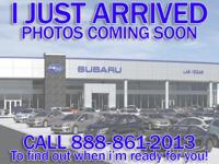 Subaru Certified, CARFAX 1-Owner. PRICE DROP FROM