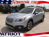 Options:  2015 Subaru Outback 2.5I Limited|Wet-Weather