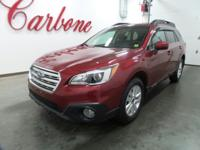 CARFAX One-Owner. Venetian Red Pearl 2015 Subaru