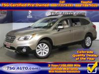 **** JUST IN FOLKS! THIS 2015 SOBARU OUTBACK PREMIUM