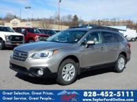 Options:  2015 Subaru Outback 2.5I Premium|Awd 2.5I