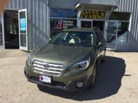 Take command of the road in the 2015 Subaru Outback!